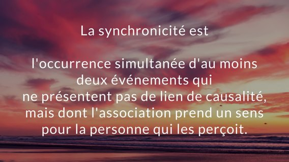 Synchronicité 93122311