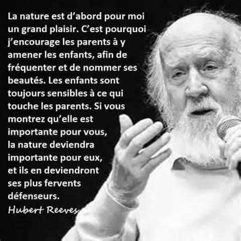 Hubert Reeves parle de la Nature 96084710