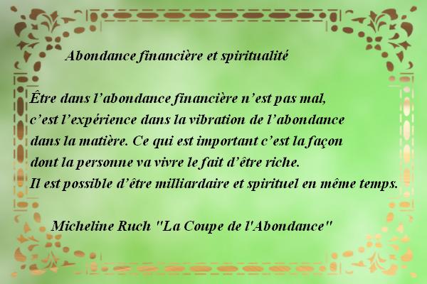 Richesse et spiritualité Abonda10