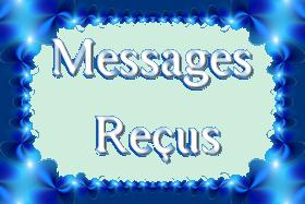 Messages reçus