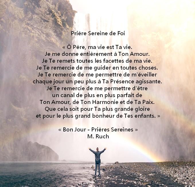 Prière de la foi Prizor10