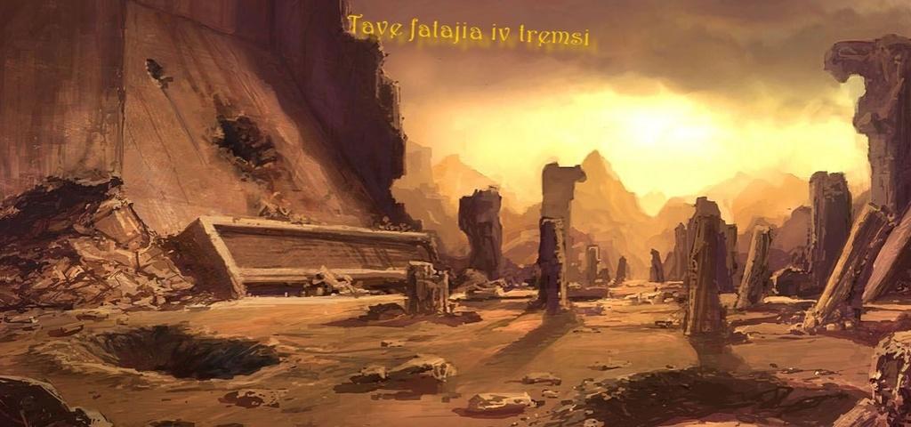 Tave fatajia iv tremsi : L'Héritage des Exilés. Korrib11