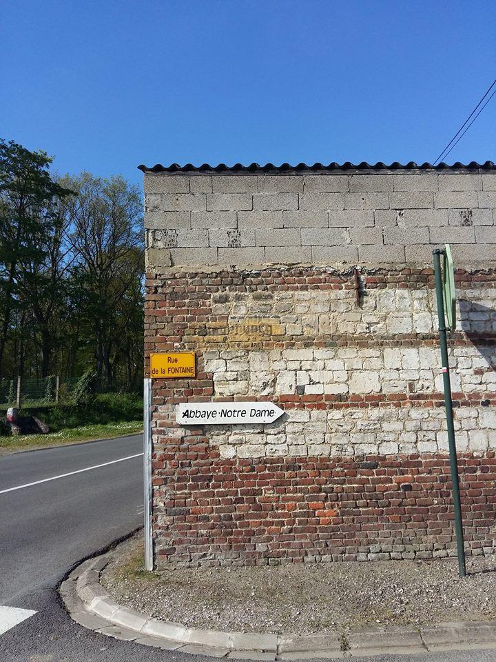Reste d'un panneau allemand dans le secteur de lumbres 13102811
