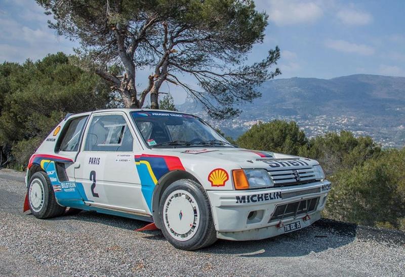 Vente 205 turbo 16 Ari VATANEN Z2193710