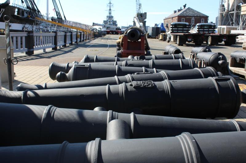 Visita alla USS Constitution (in cantiere per restauro). Img_1012