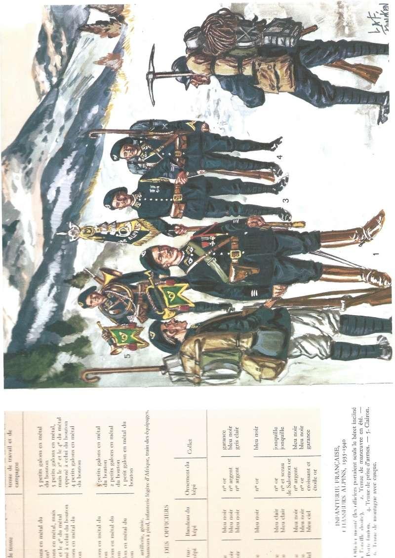 tenues de chasseur alpin Chasse11