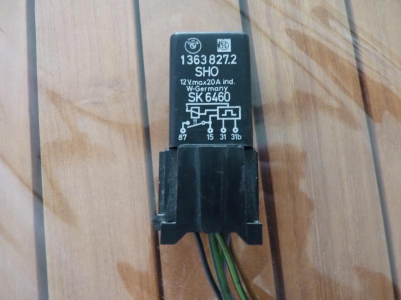 Installation pompe électrique avec relais. P1050010