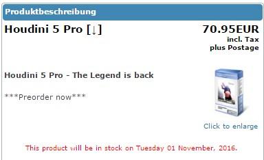 Houdini 5 Pro announcement Screen36