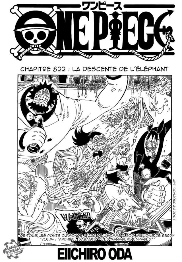 One Piece Chapitre n°822 Op12