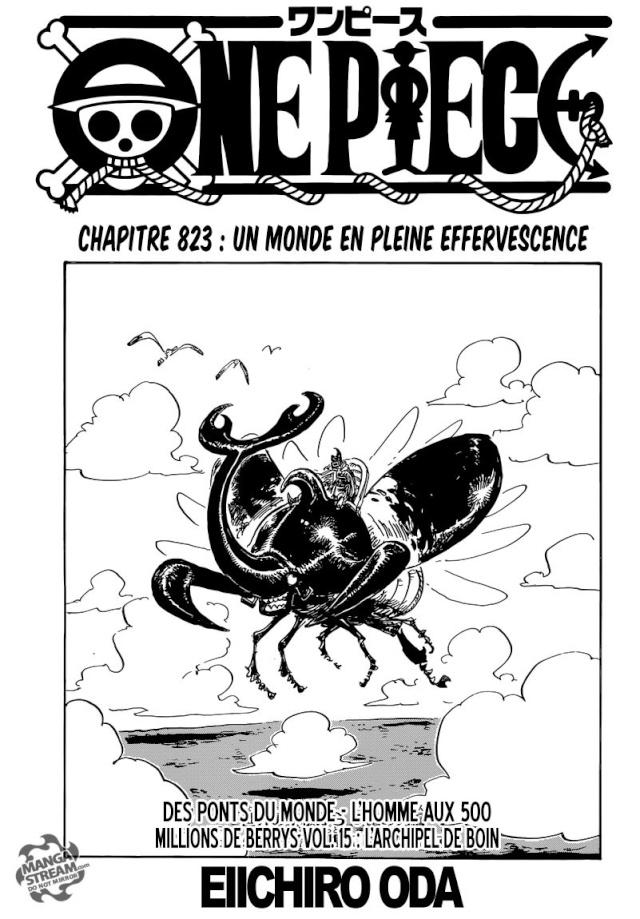 One Piece Chapitre n°823 Op13
