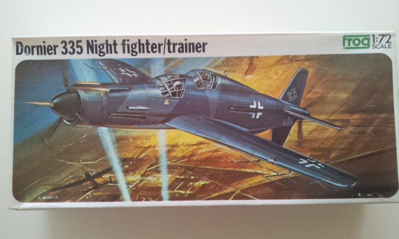 [Frog] Dornier 335 Night fighter-trainer 2013-110
