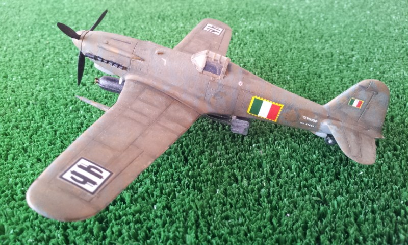 [Flying Machine] Fiat G.55S 2016-012