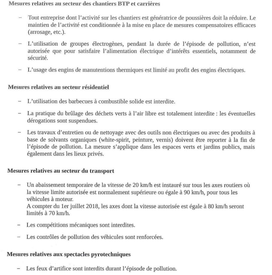 Sports mécaniques interdits dans plusieurs départements de Rhône-Alpes Pref-410