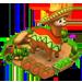 Alpaga au Sombrero Brownm10