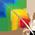 Aras Arc-en-Ciel => Plume d'Aras Arc-en-Ciel Colorf10