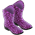 Panthère Violette => Imprimé Panthère Violette Elegan10