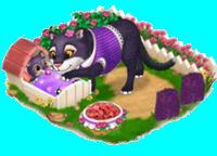 Panthère Violette => Imprimé Panthère Violette Sans_270