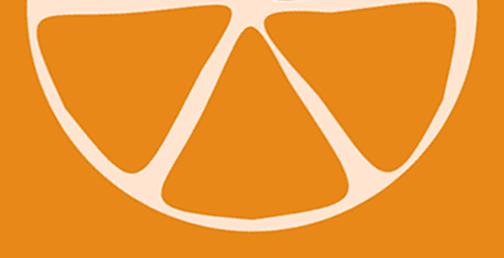 demi orange partie basse