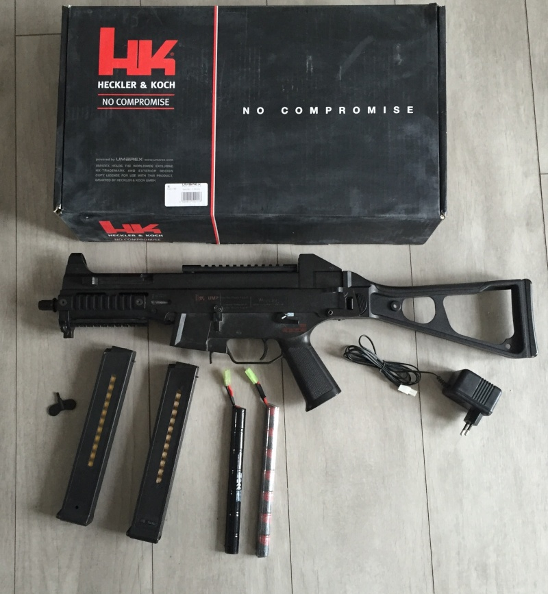 Vente UMP 45 . 2 batteries . 2 chargeurs  Image17
