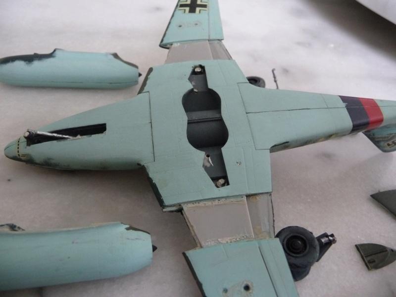 "Me 262 "" Schwalbe "" Allemagne - 1945 P1190630"