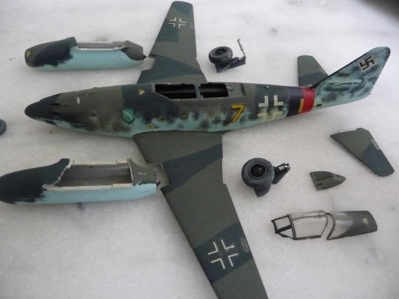 "Me 262 "" Schwalbe "" Allemagne - 1945 P1190631"