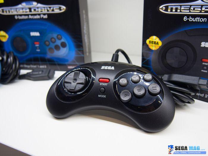 Manettes officielles Sega Dreamcast, Saturn et Megadrive 18082311