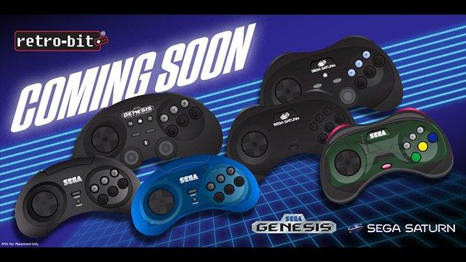 Manettes officielles Sega Dreamcast, Saturn et Megadrive 77726_10