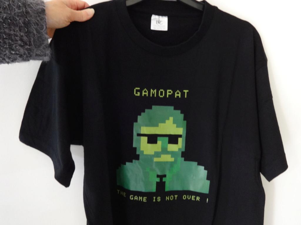 [Echange] Tee-shirt GAMOPAT vs Jeu Megadrive Dsc00210