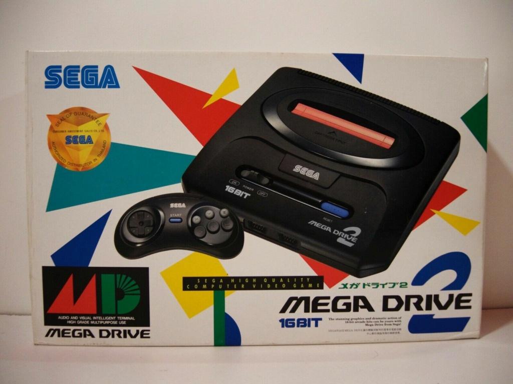 [VENDUE] Réplique d'époque Console Sega Megadrive 2 JAP + manette 6 boutons S-l16012