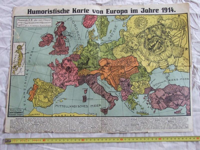 Caricature Europe 1914. Dscf2510