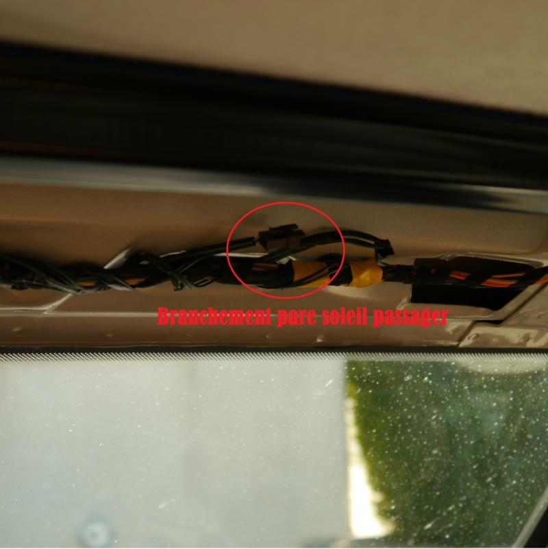 branchement pare soleil et rétroviseur intérieur P1010410
