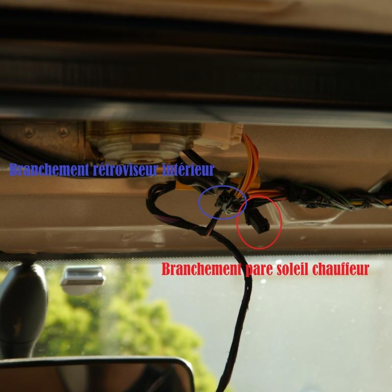 branchement pare soleil et rétroviseur intérieur P1010411