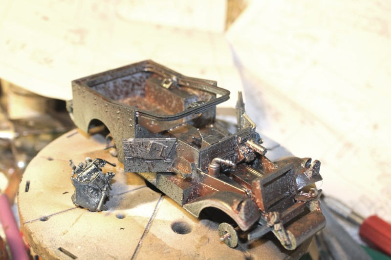 M3 Scout Car - Zvezda 1/35 (PINO BROCCHINI) Img_5410