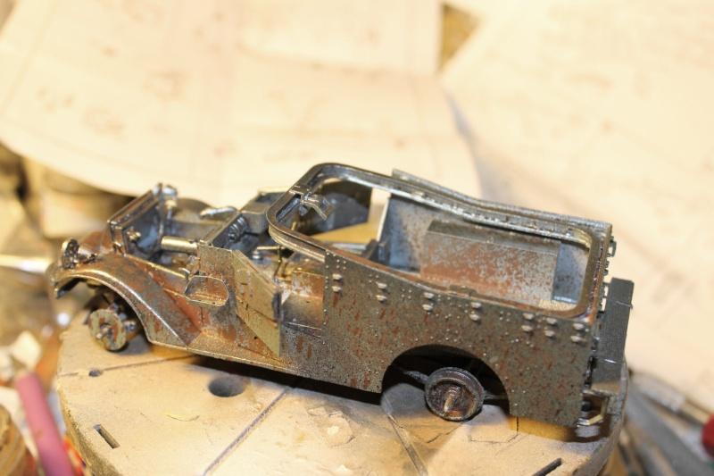 M3 Scout Car - Zvezda 1/35 (PINO BROCCHINI) Img_5411