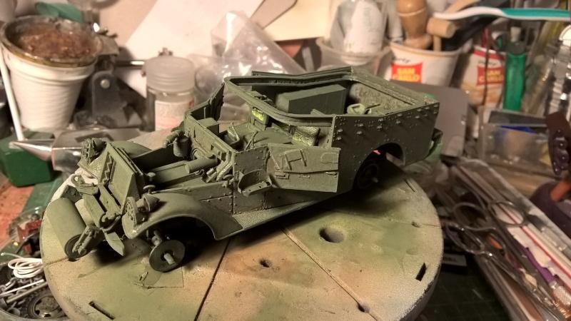 M3 Scout Car - Zvezda 1/35 (PINO BROCCHINI) Wp_20118