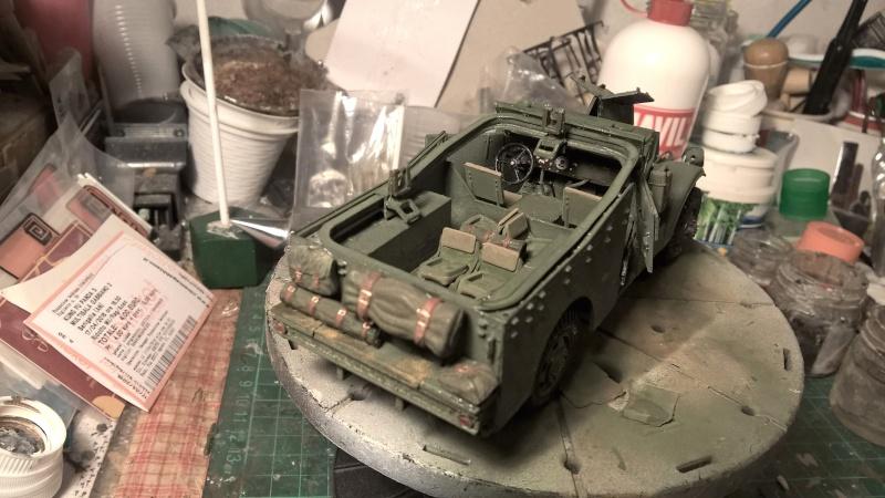 M3 Scout Car - Zvezda 1/35 (PINO BROCCHINI) Wp_20122