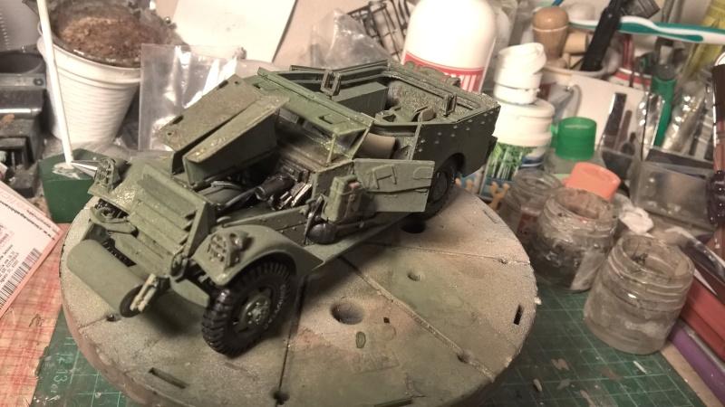 M3 Scout Car - Zvezda 1/35 (PINO BROCCHINI) Wp_20123