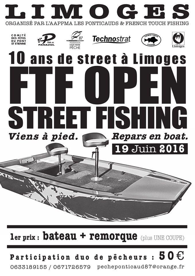 FTF Open Street Fishing Limoges 13116510