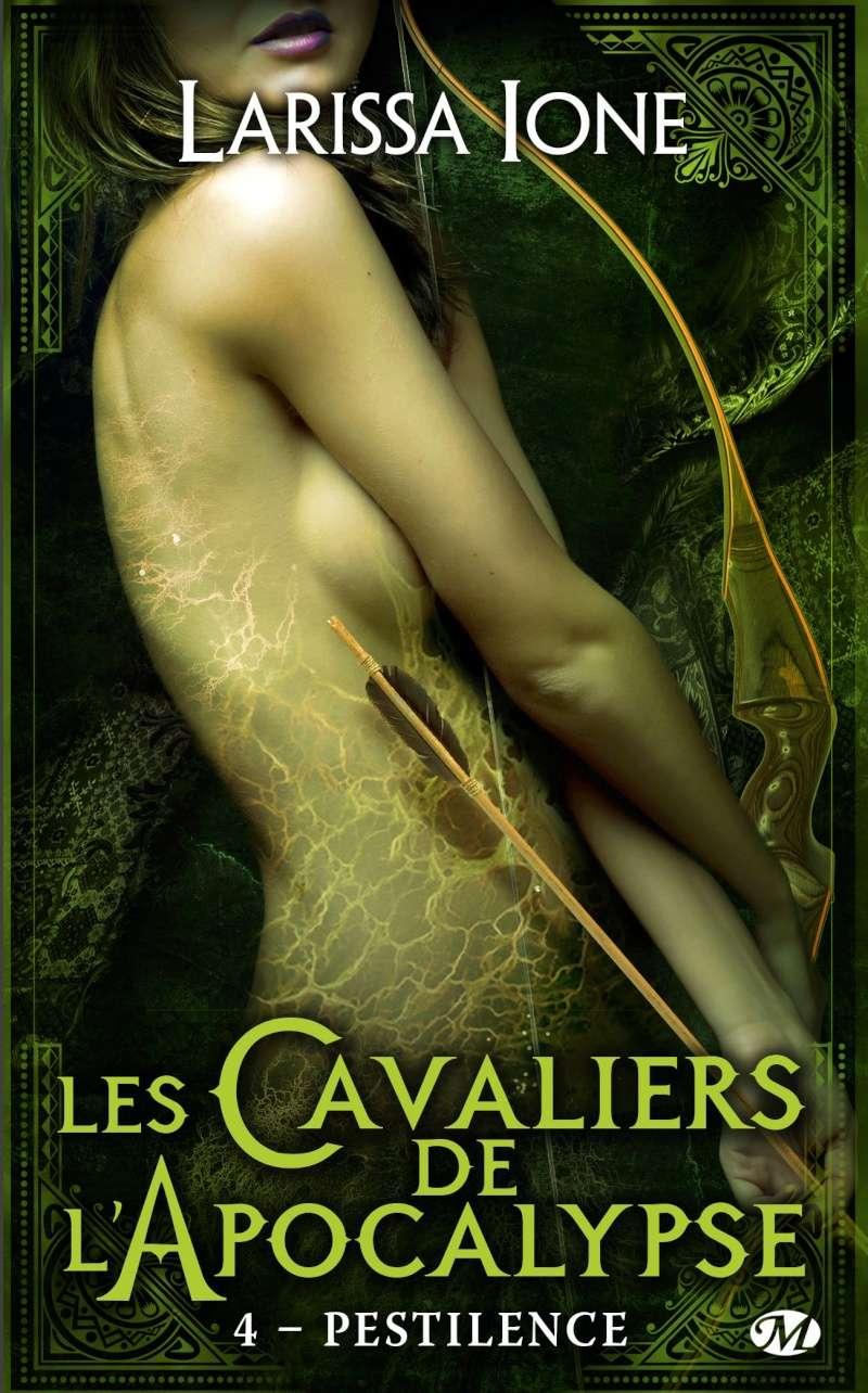 IONE Larissa - LES CAVALIERS DE L'APOCALYPSE - Tome 4 (DEMONICA 9) : Pestilence 81zbxa10