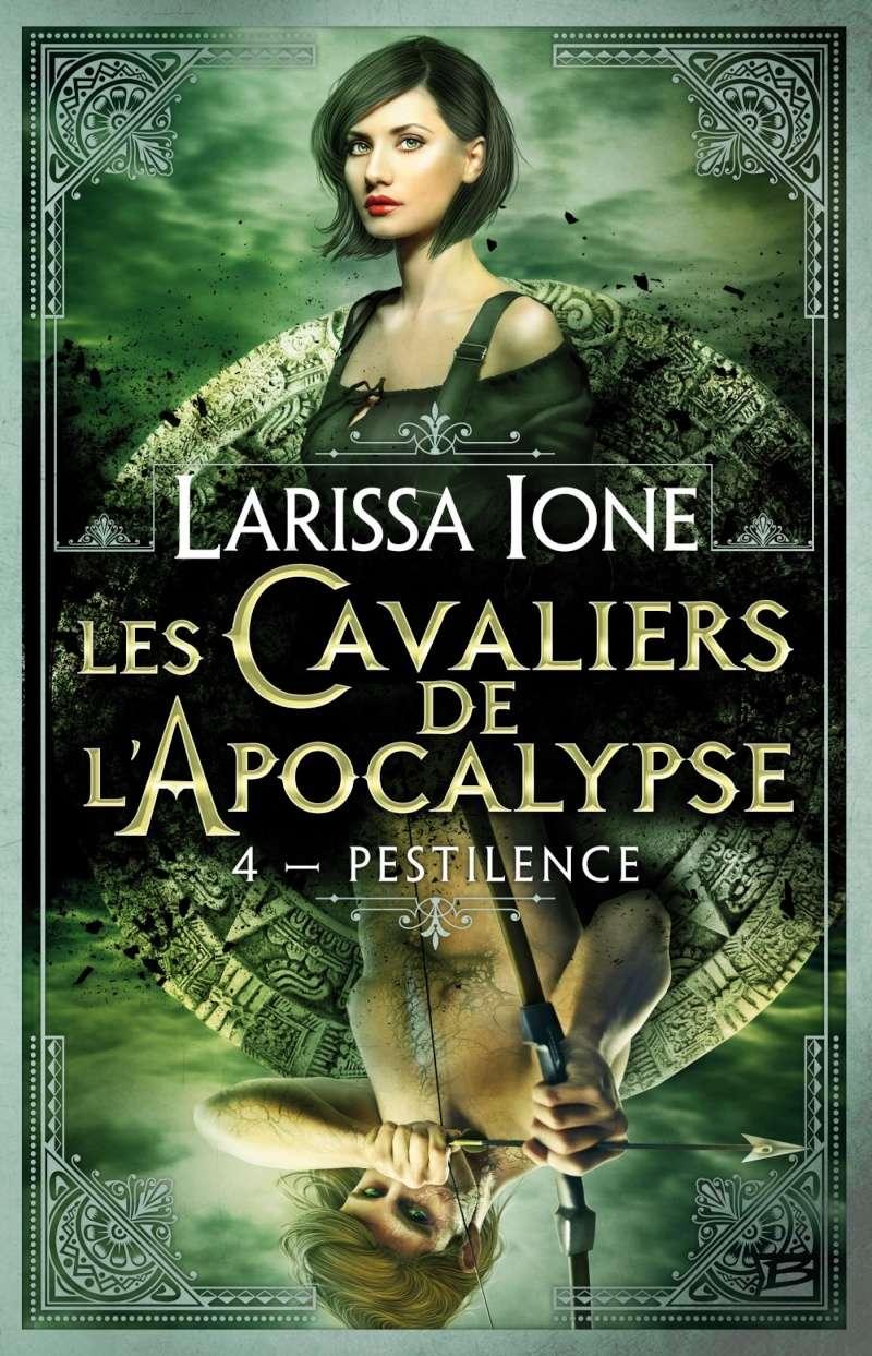 IONE Larissa - LES CAVALIERS DE L'APOCALYPSE - Tome 4 (DEMONICA 9) : Pestilence 91vepl10