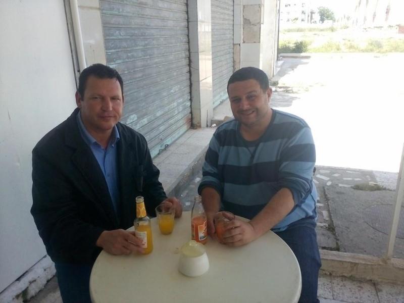 avec l'écrivain Kamel Drici à Taref 124