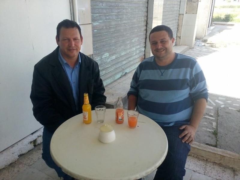 avec l'écrivain Kamel Drici à Taref 125