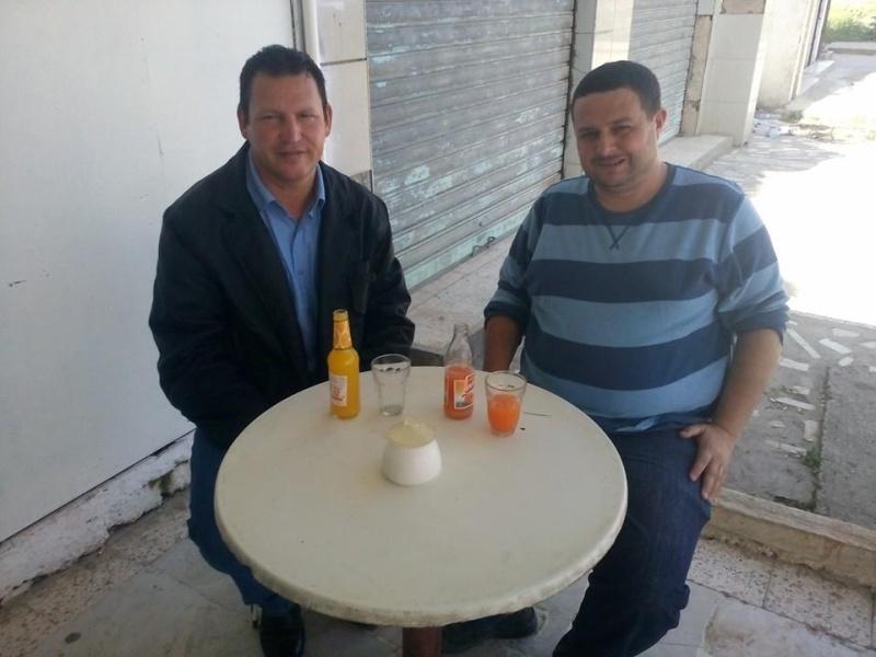 avec l'écrivain Kamel Drici à Taref 126
