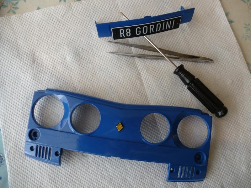 """Début du montage de ma R8 """" Gordo """" P1080427"""