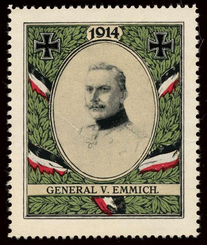 Nachlass-Sammlung Vignetten, etc. ab 1896 - Kaiserreich, usw. 1010