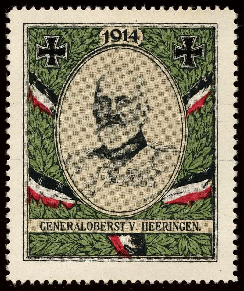 Nachlass-Sammlung Vignetten, etc. ab 1896 - Kaiserreich, usw. 1710