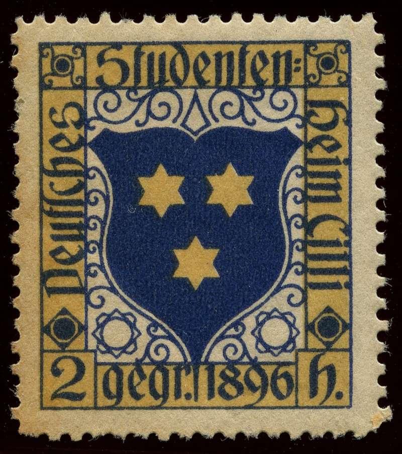 Nachlass-Sammlung Vignetten, etc. ab 1896 - Kaiserreich, usw. 1896_s10