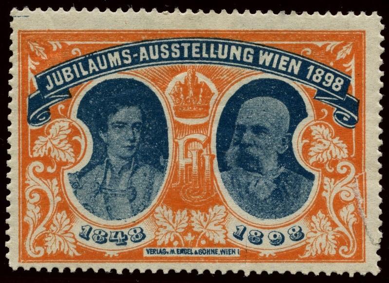 Nachlass-Sammlung Vignetten, etc. ab 1896 - Kaiserreich, usw. 1898_j10