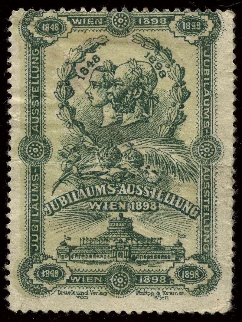 Nachlass-Sammlung Vignetten, etc. ab 1896 - Kaiserreich, usw. 1898_j11