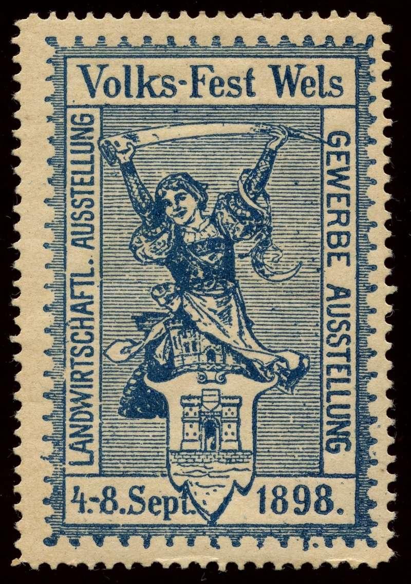 Nachlass-Sammlung Vignetten, etc. ab 1896 - Kaiserreich, usw. 1898_v11